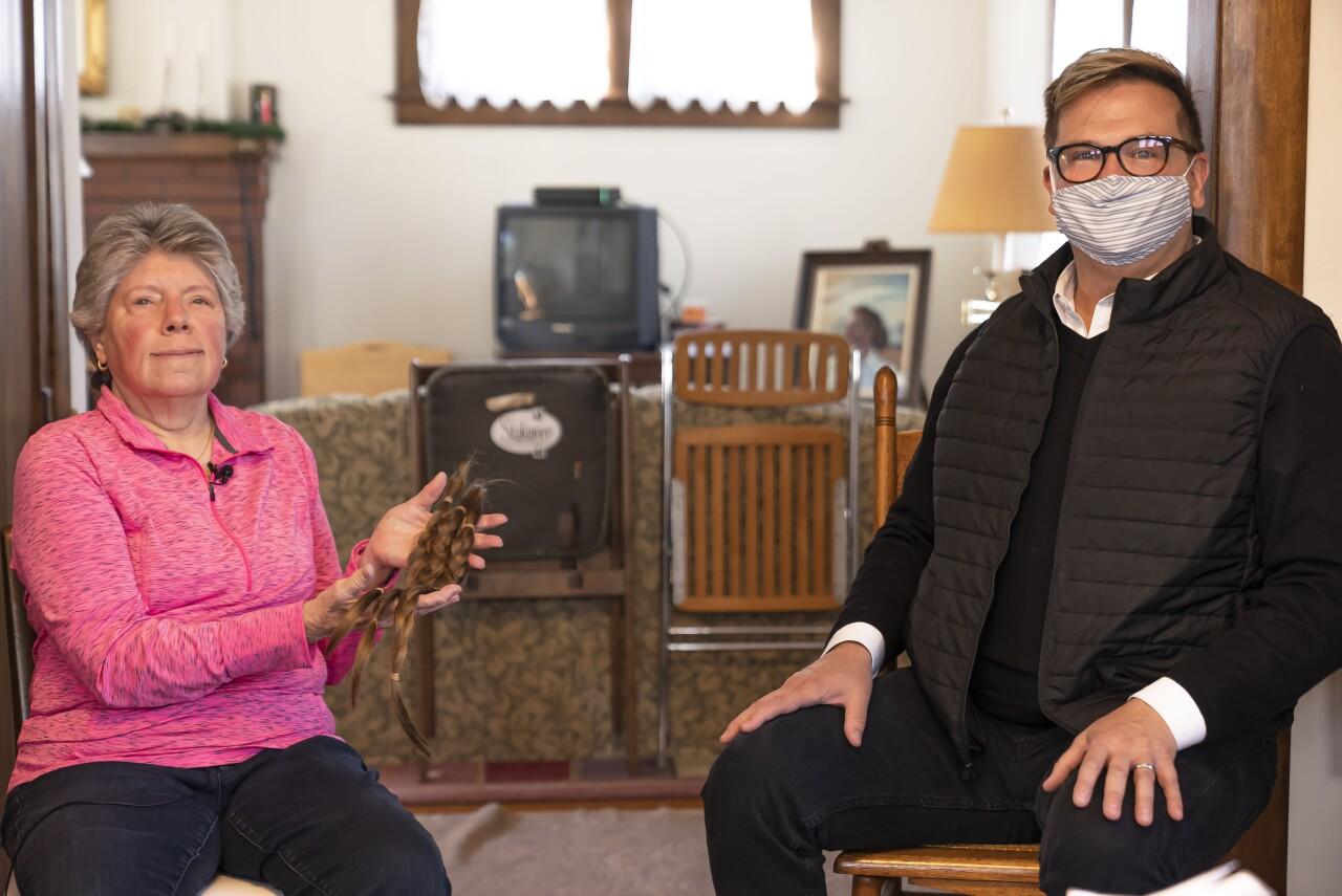 Janet Guinter and Bob Hofffman