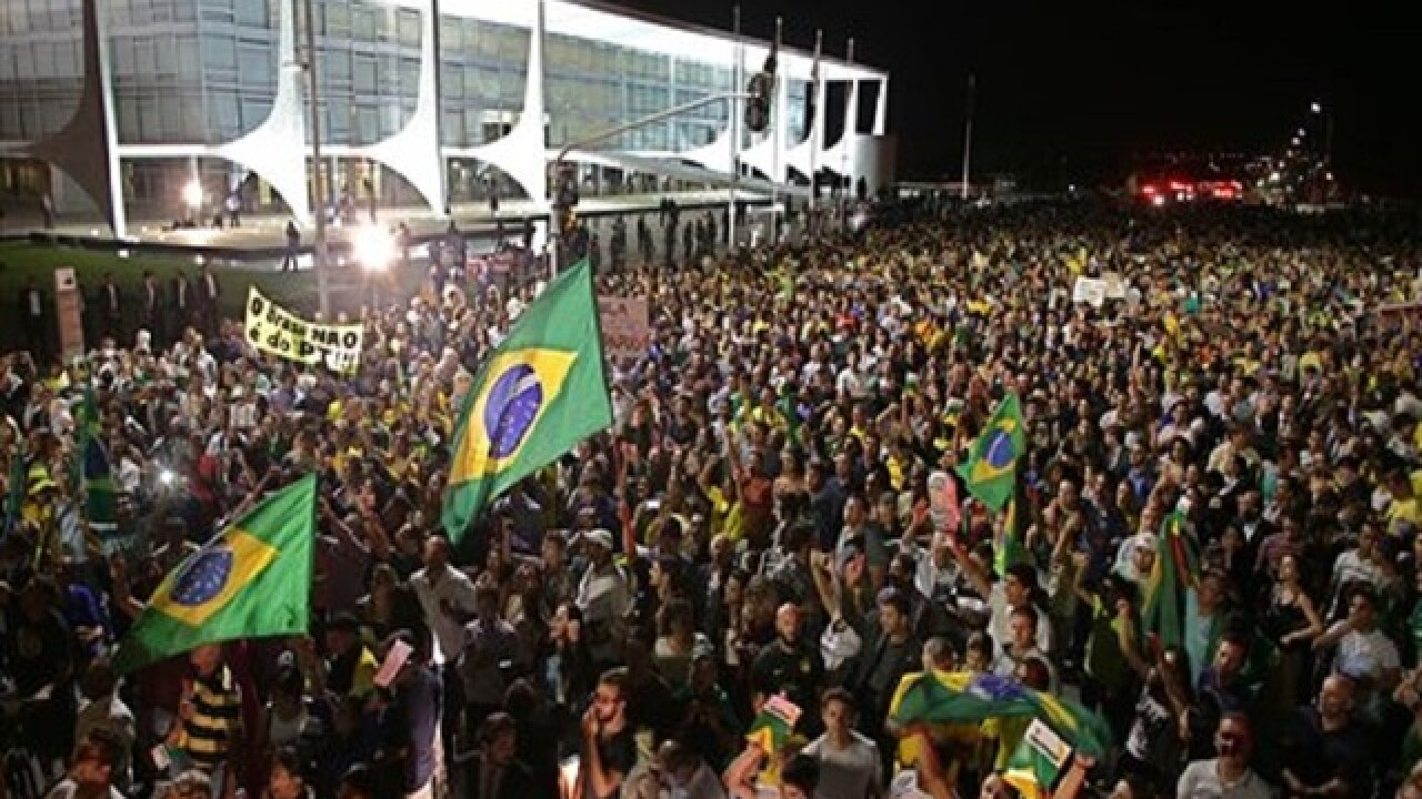 Brazil judge released tapped phone calls