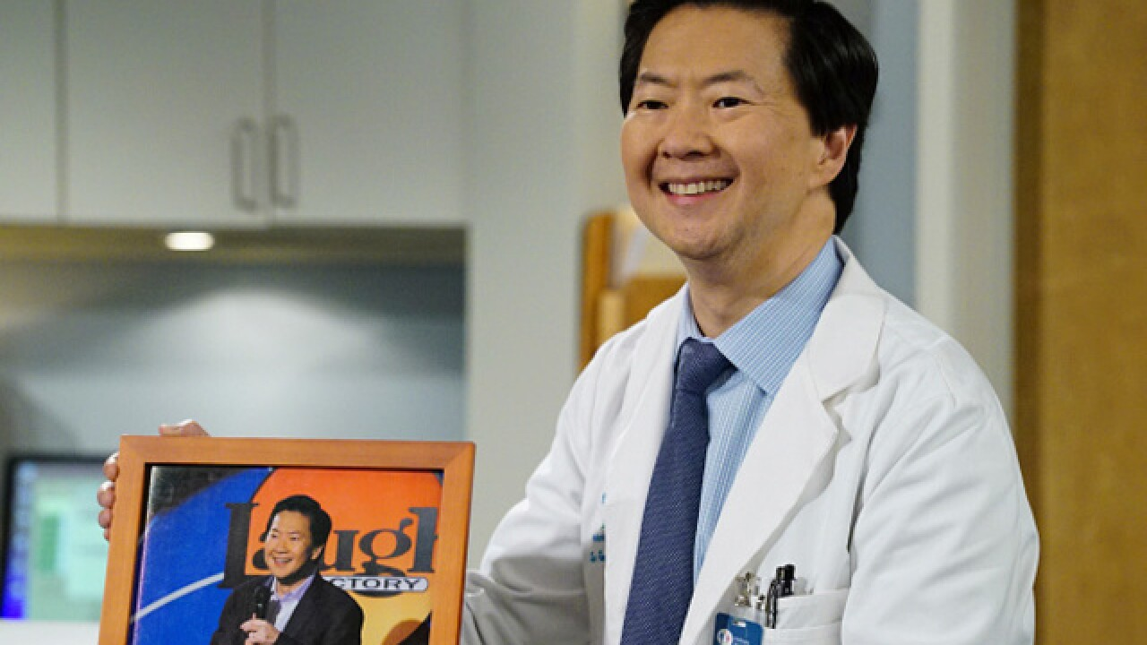 Comedian Ken Jeong uses medical training to help audience member