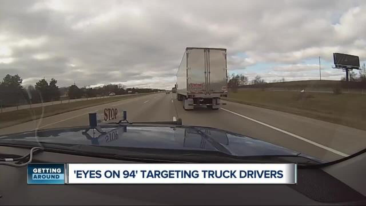 Michigan State Police to conduct commercial vehicle enforcement on I-94