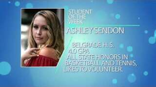Student of the Week: Ashley Sendon
