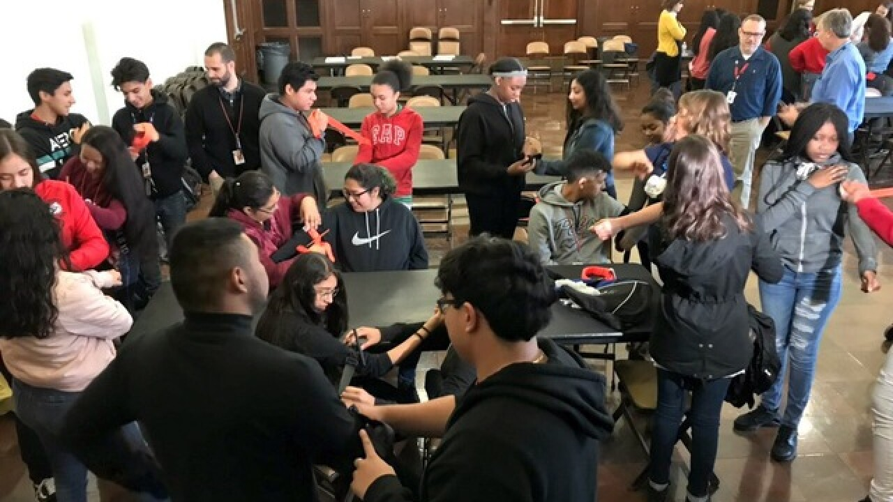 Wyandotte students learn to 'stop the bleed'