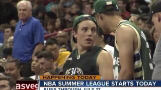 NBA Summer League tips off in Las Vegas