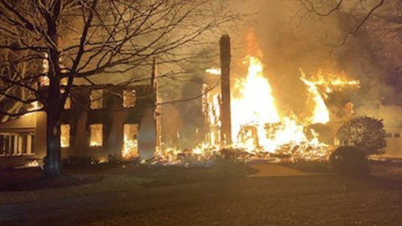 A two-alarm house fire in Talbot County has caused $4.5 million in damage.
