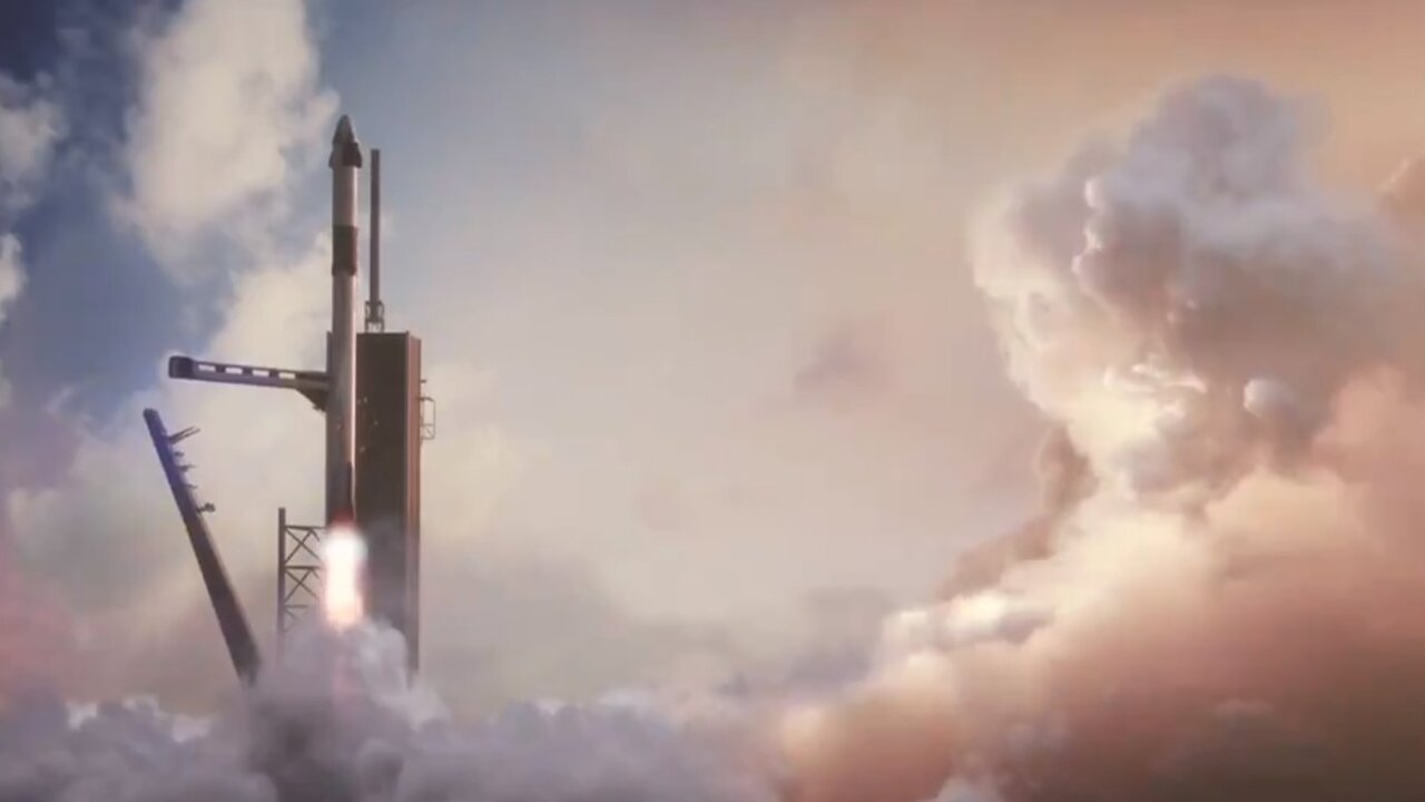 What SpaceX's first-ever astronaut launch will look like