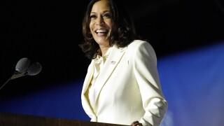 Kamala Harris pays tribute to Black women in 1st speech as VP-elect