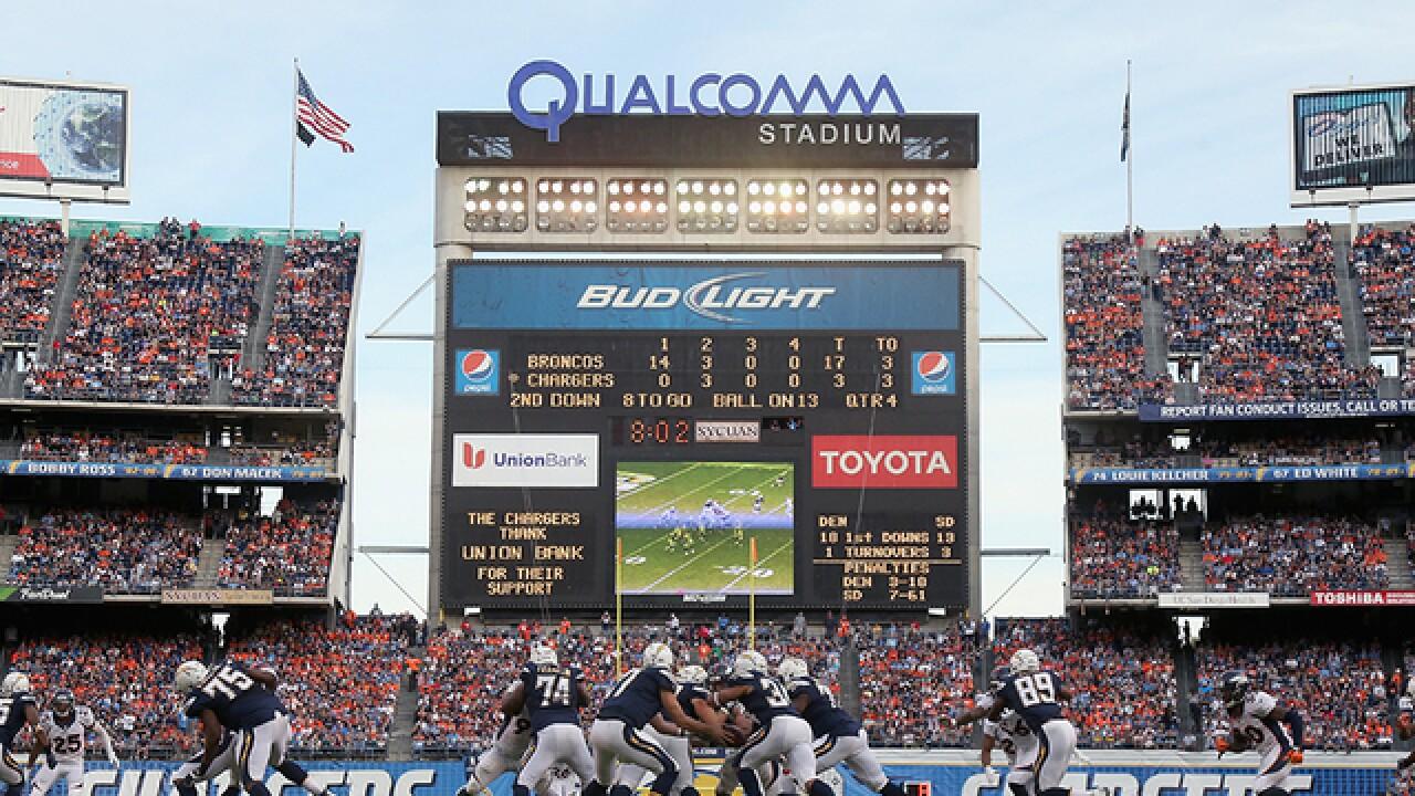 Qualcomm Stadium technology upgrades sidelined