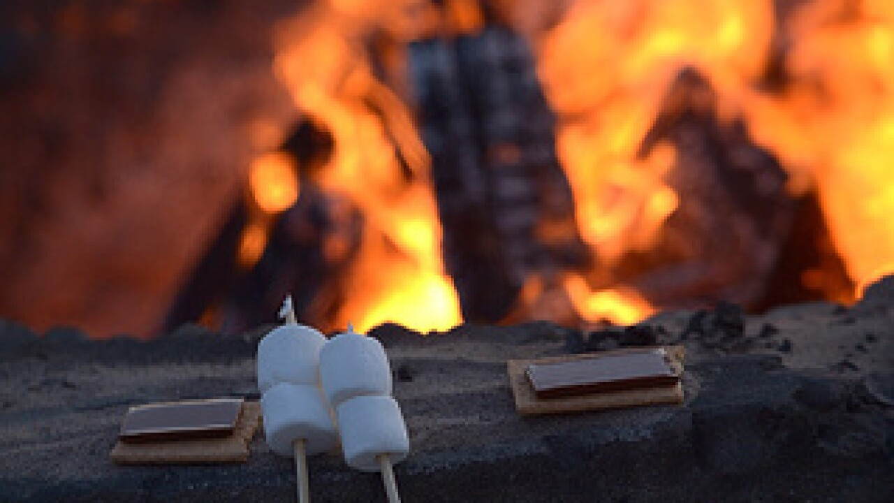Head to a San Diego fire pit for S'Mores Day
