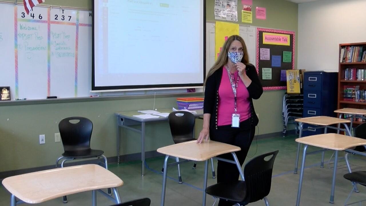 Teacher Margaret Neely