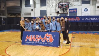 GR Christian three-peats as volleyball state champions