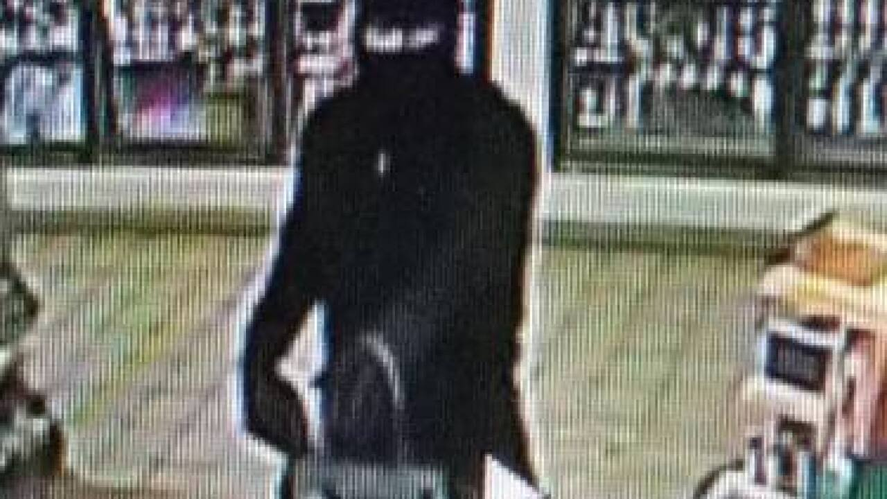 Unknown, armed suspect robs 3 stores in 3 days