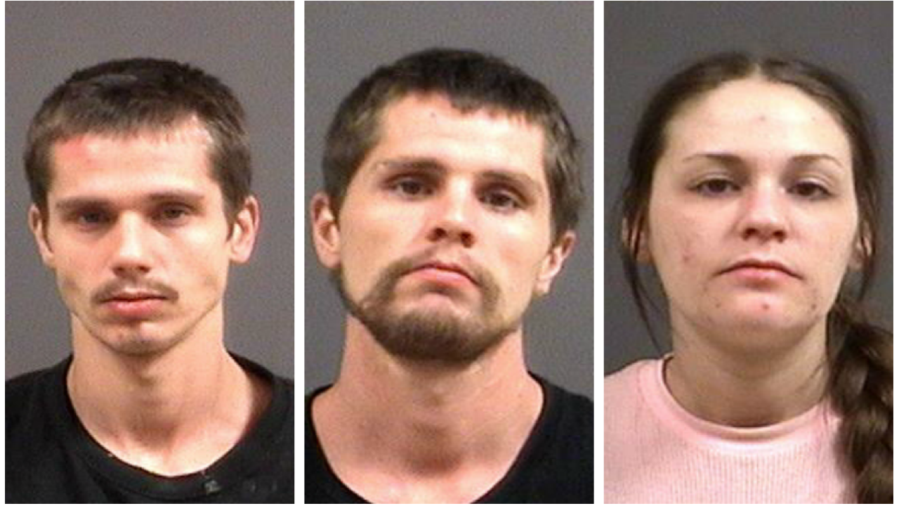 3 arrested in Chesterfield knife-point robbery may be linked to crime spree