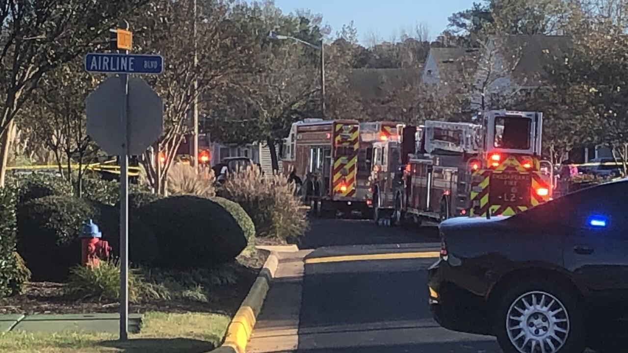 CH 4000 Jill Crescent Maplewood Apartments fire (November 23)
