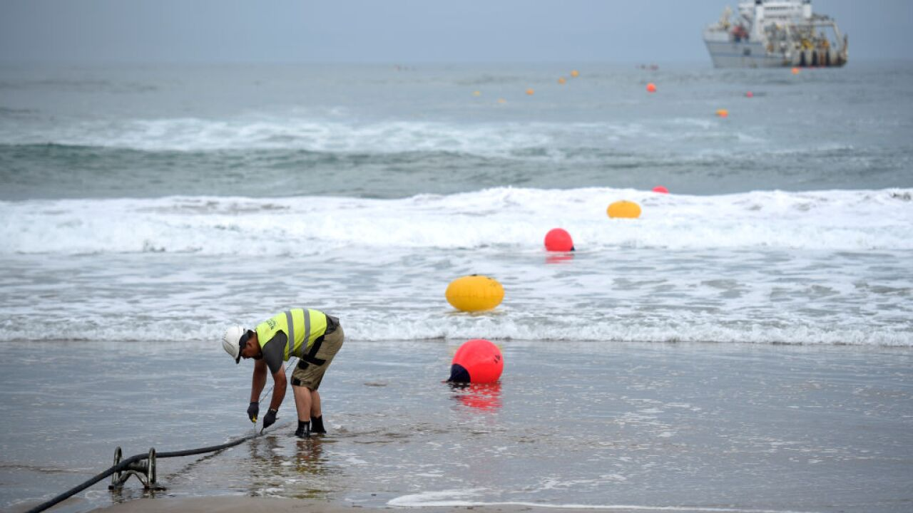 How vulnerable are the undersea cables that power the global internet?