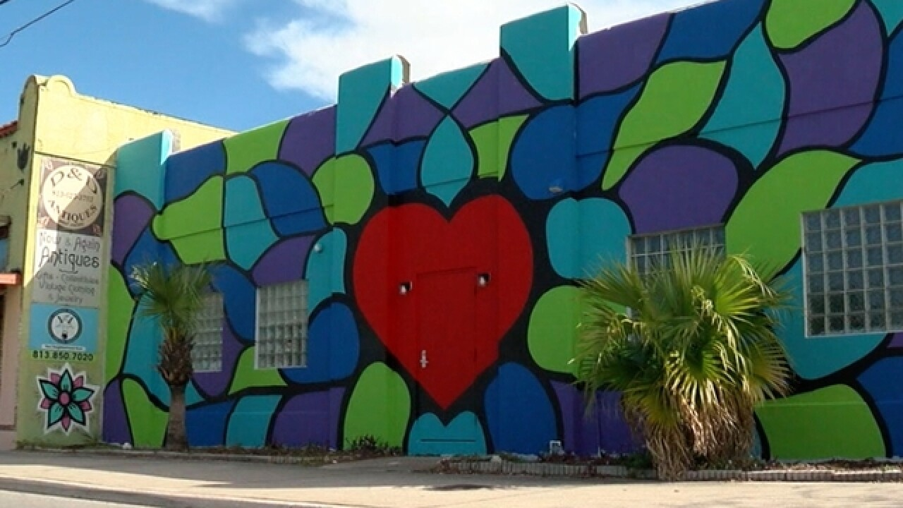 "New mural a ""thank you"" to Seminole Heights"