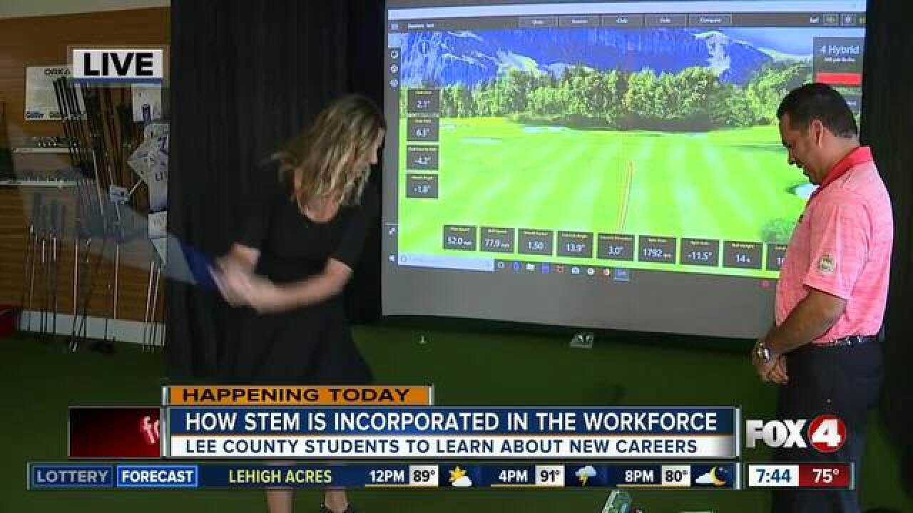 Lee County students attend STEM at work event