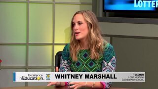 Excellence in Education – Whitney Marshall