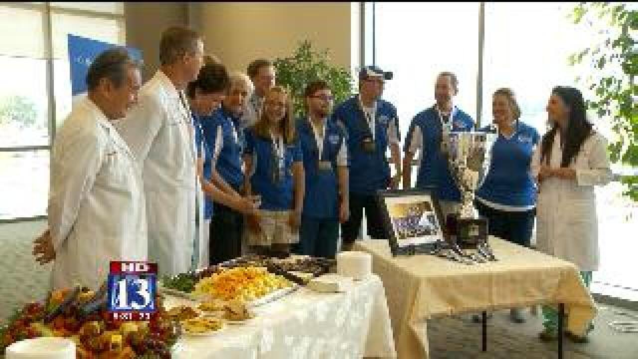 Locals compete in Transplant Games