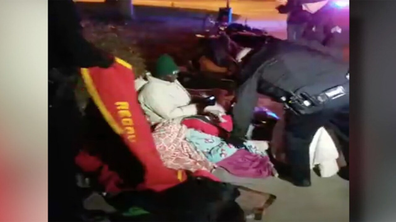 Denver mayor orders police to stop taking blankets from the homeless