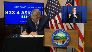 DeWine signs order for small businesses
