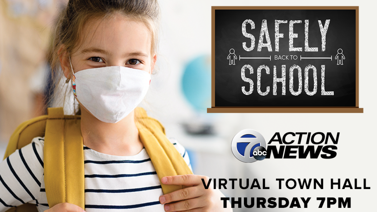 back to school virtual town hall thursday.