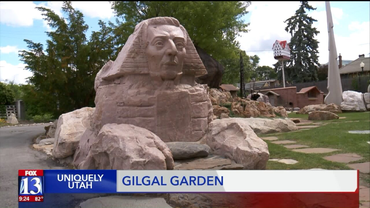 Uniquely Utah:  Tourists flock to Gilgal Garden