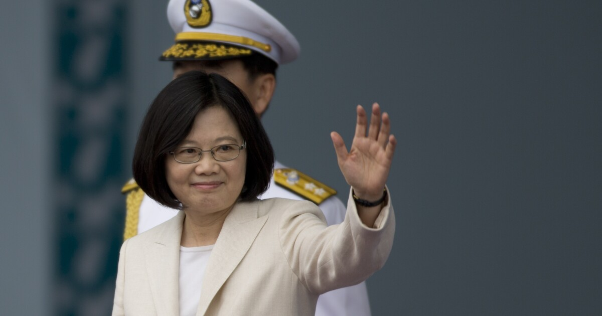 Taiwanese president to dine in Denver during US visit