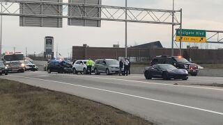 Crash at SR-32 and I-275