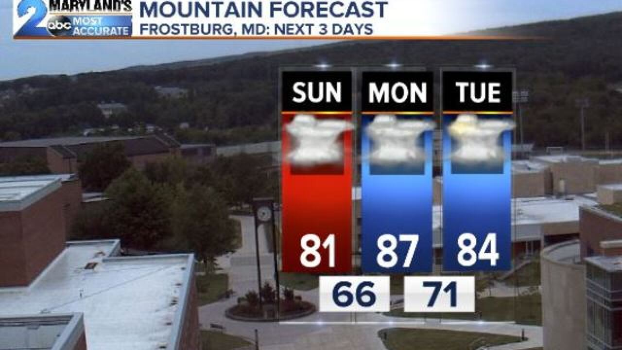 PATTERN CHANGE: Weekend Without Big Rains