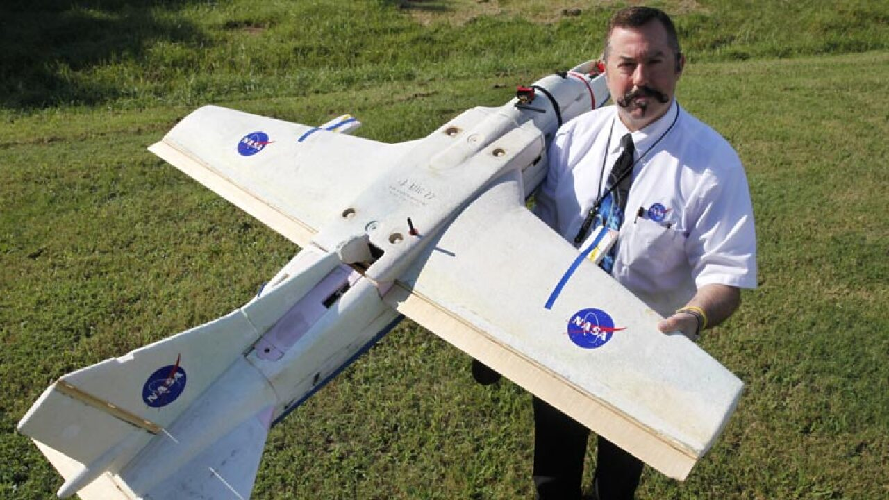 NASA's Langley Research Center to test fire-spotting drone over the Great Dismal Swamp