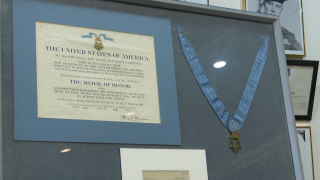 MT Military Museum receives its first Medal of Honor to display