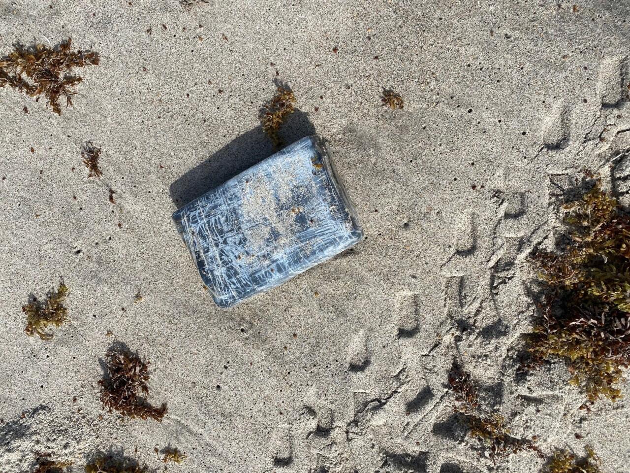beach cocaine