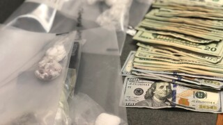 drugs and cash seized.jfif