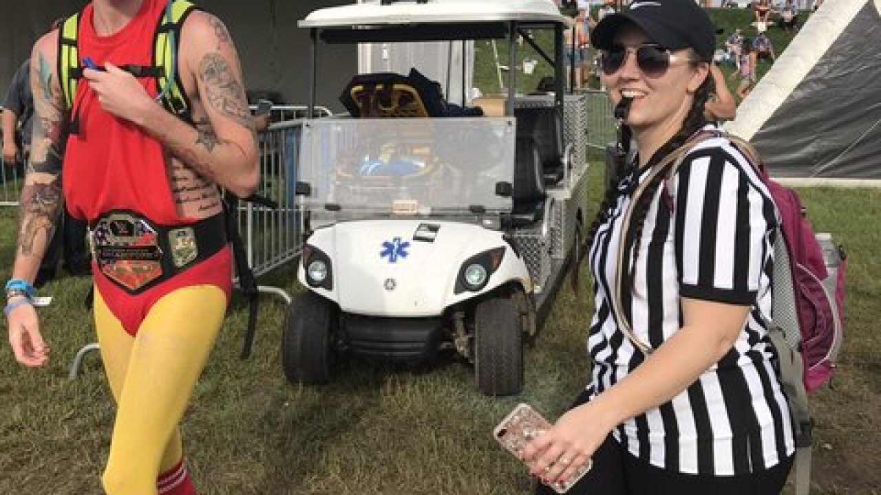 Um... what? Weird things spotted at the Indy 500