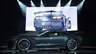 Chevy recalling 2019 Corvette ZR1 as airbags may not deploy