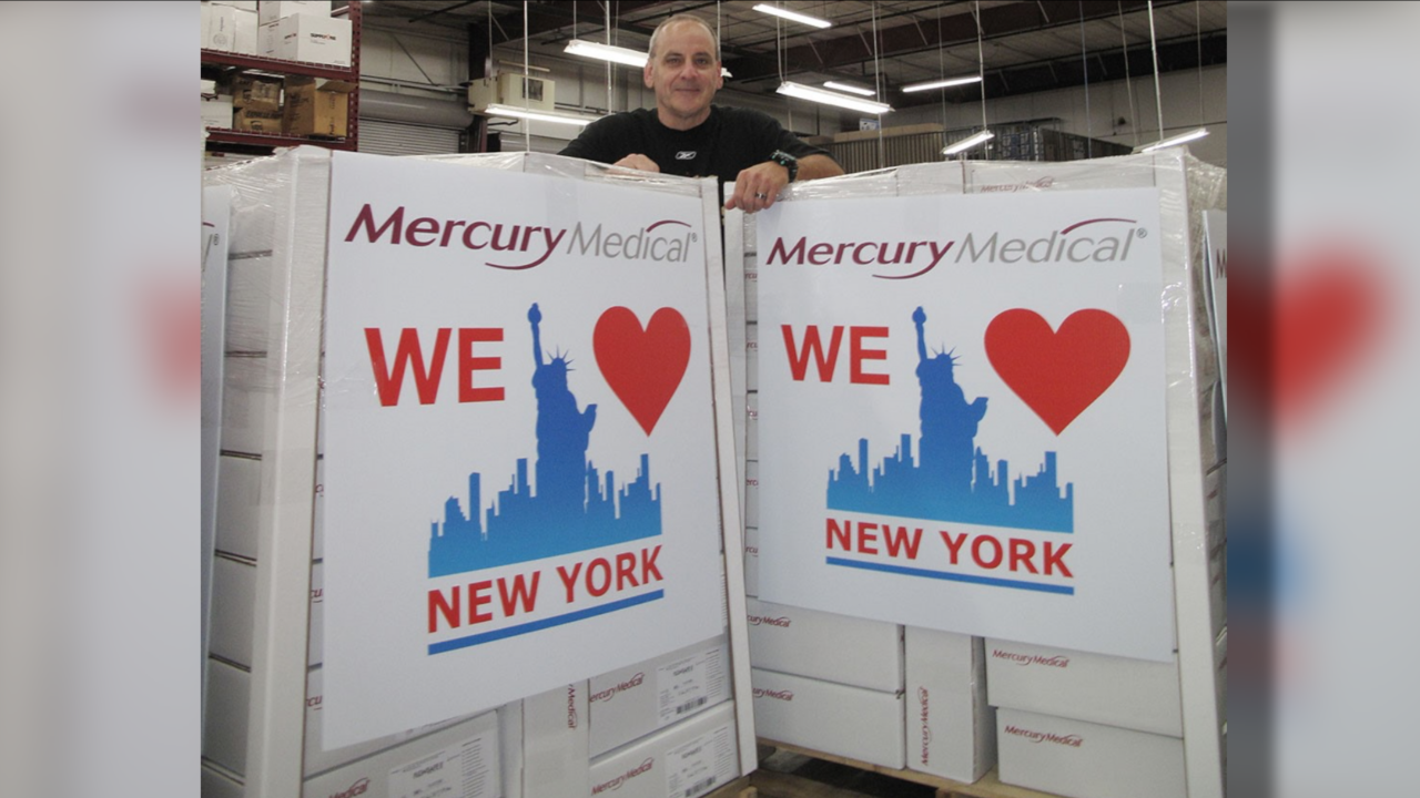 Mercury Medical for New York State