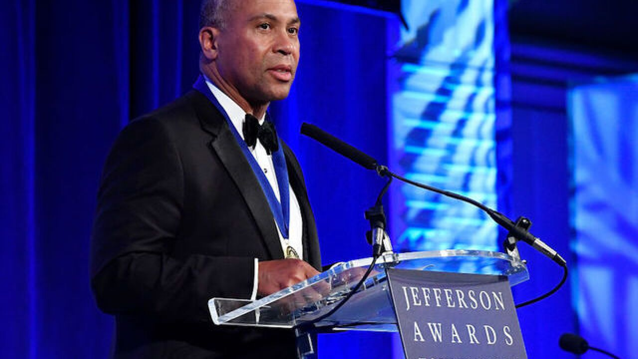 Former Massachusetts Gov. Deval Patrick has decided he will not run for president in 2020