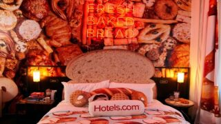 This 'bread And Breakfast' Carb-themed Hotel Suite Has A Minibar Stocked With Pastries