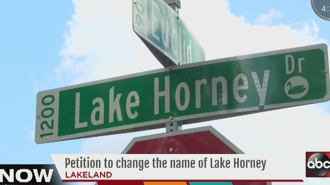 Commissioners to take poll on Lake Horney