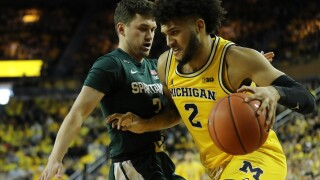 Isaiah Livers returns, Michigan beats No. 16 Michigan State