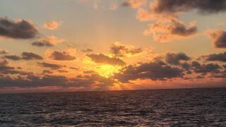 Gulf of Mexico Sunset - Photo By: FB Coastal Bend Weather Watcher Jay Longley