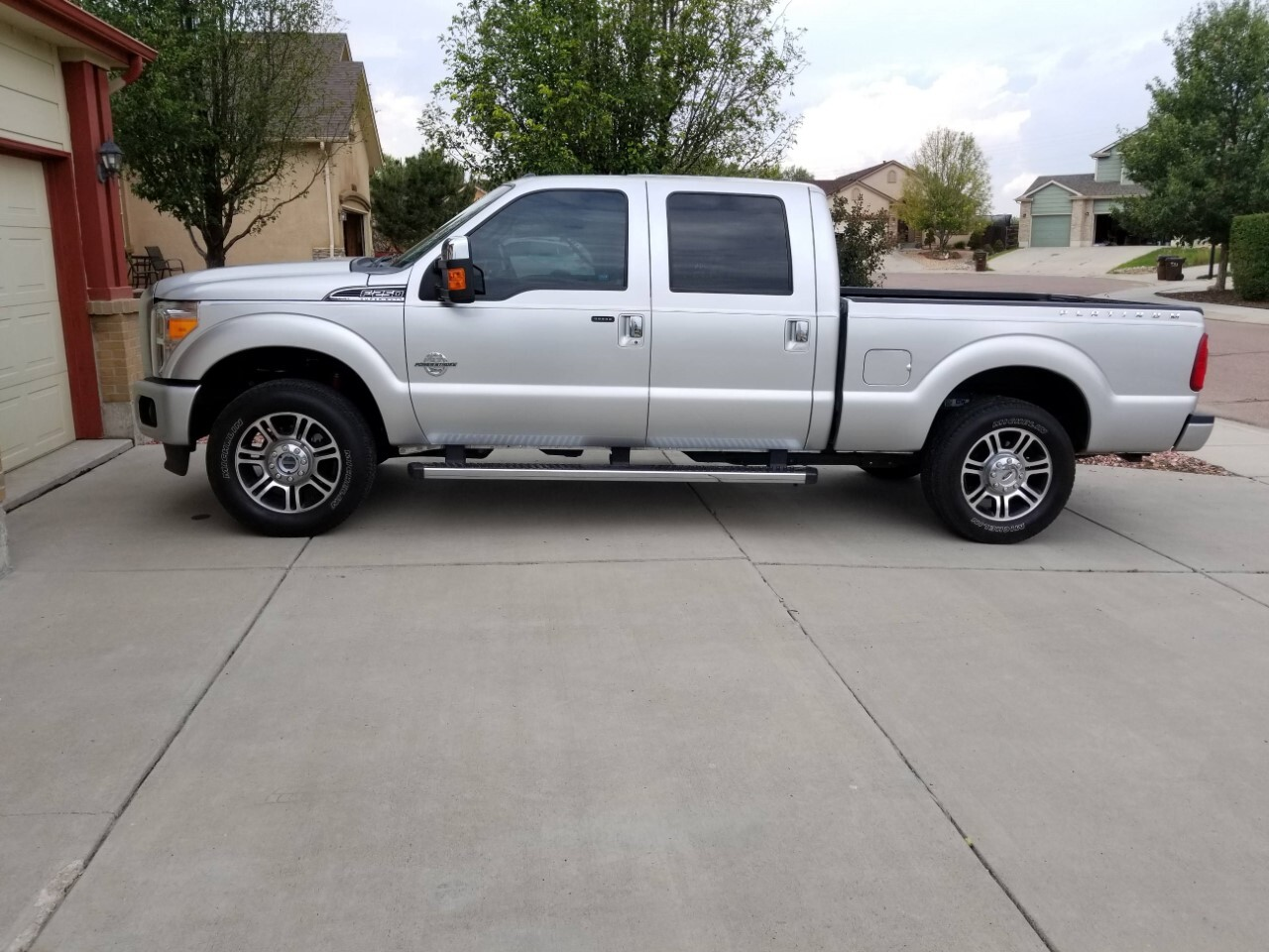 Stolen Ford F250