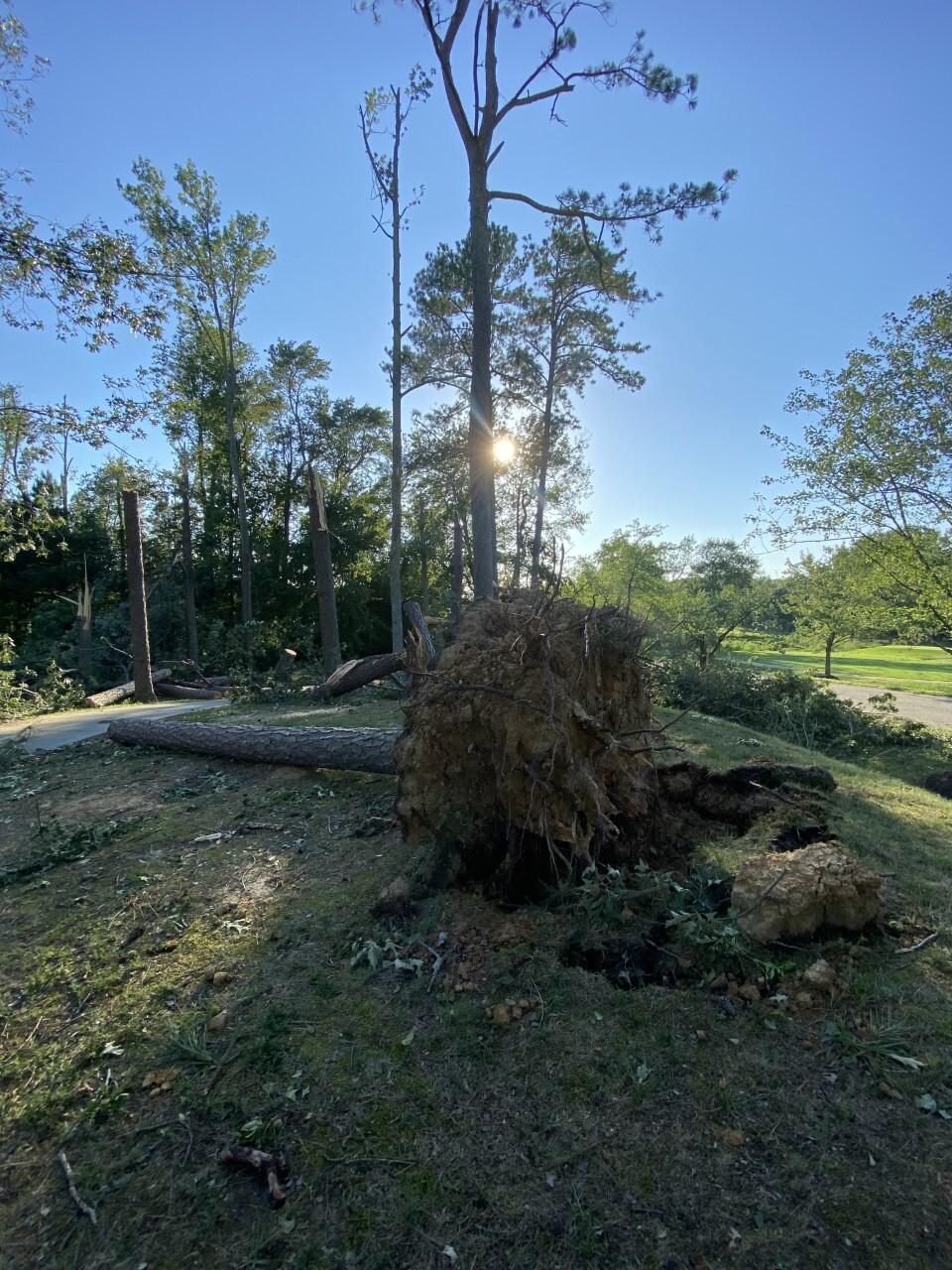 JCC Storm Damage
