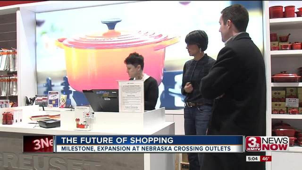 Area mall celebrates milestone, looks to future