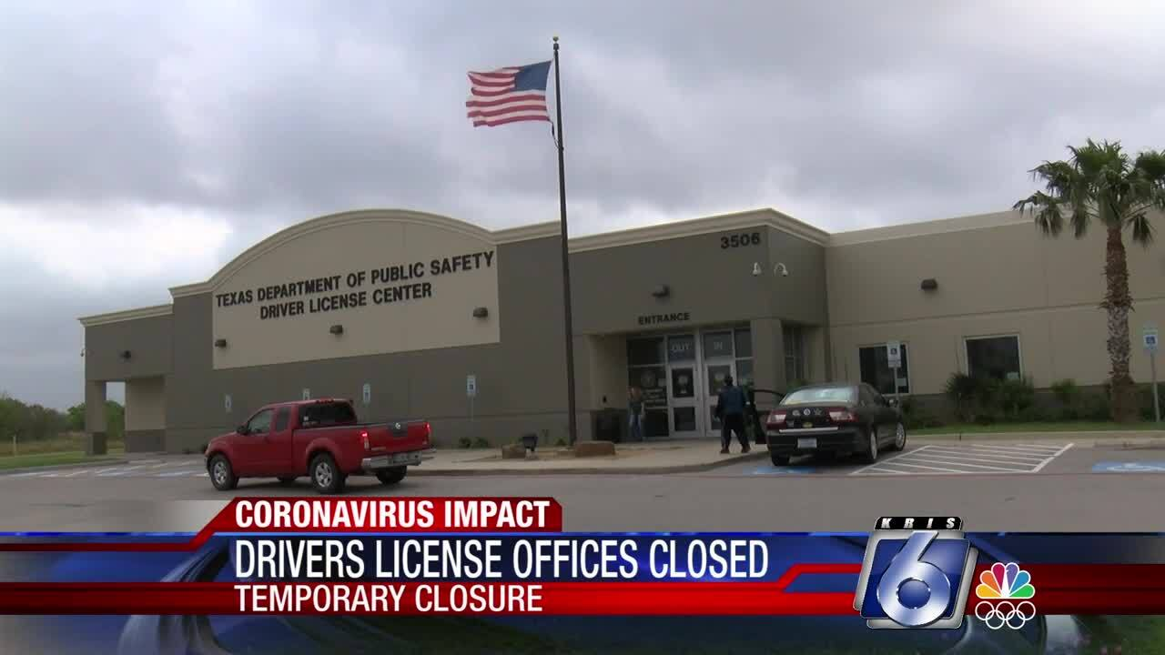 DPS driver license office closed
