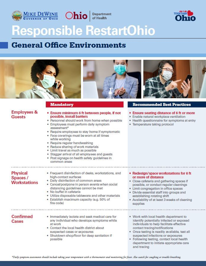 business guidelines ohio