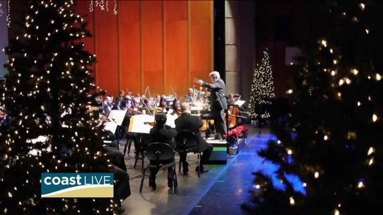 A preview of The Virginia Symphony's holiday concerts on CoastLive