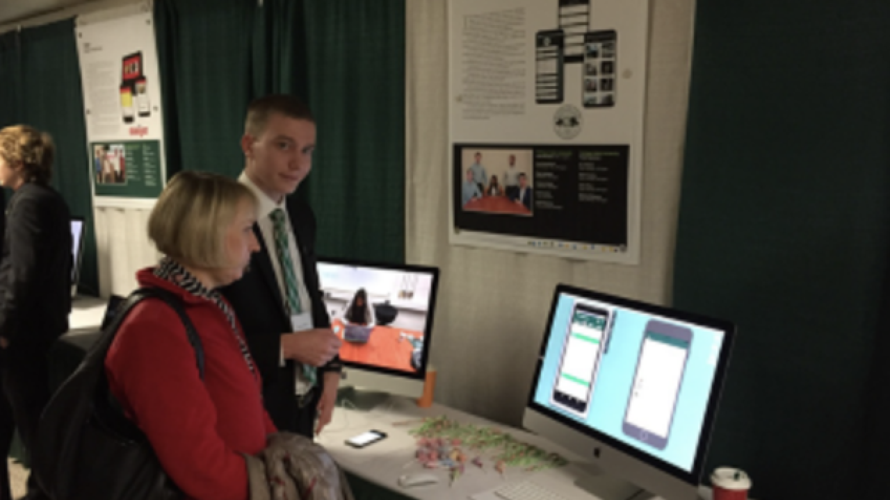 Students create app to assist students, visitors