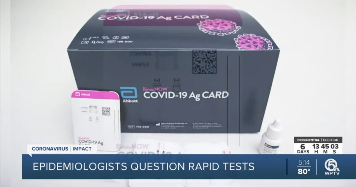 Florida receives 2.3 million new COVID rapid tests with more on the way