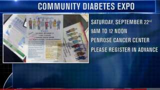 Your Healthy Family: Free Diabetes Expo in Colorado Springs this Saturday